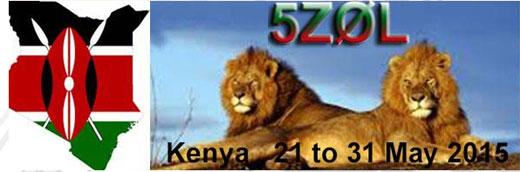 5Z0L Kenya on 50MHz